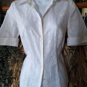 Button down shirt from loft size 4